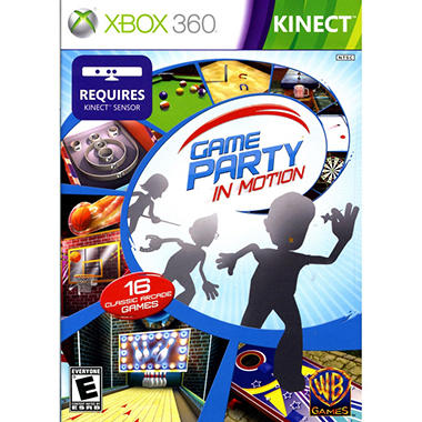 Game Party: In Motion - Xbox 360 Kinect