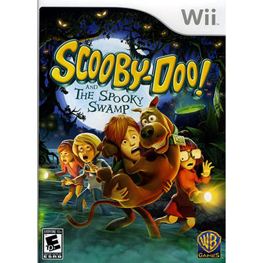 Scooby Doo and the Spooky Swamp - Wii