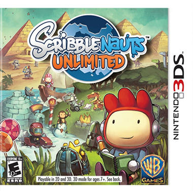 Scribblenauts Unlimited - 3DS
