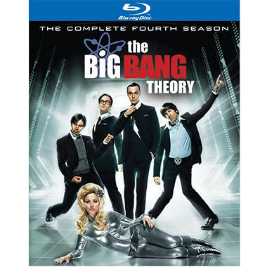 The Big Bang Theory: The Complete Fourth Season (Blu-ray) (Widescreen)