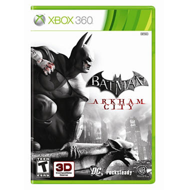 Batman: Arkham City with Bonus Batman: Arkham Asylum GOTY- Xbox 360