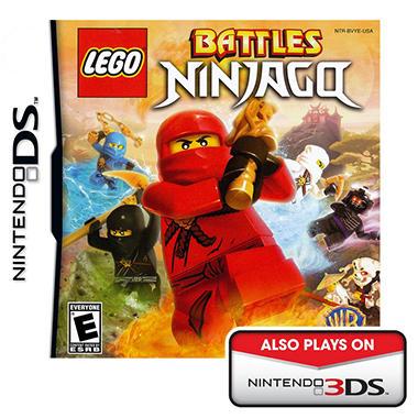 DS LEGO BTTLS NINJAG INLINE CATALOG ASST
