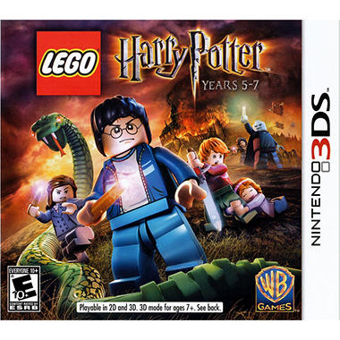 LEGO Harry Potter: Years 5-7 with bonus LEGO Harry Potter Set - 3DS