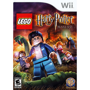 LEGO Harry Potter: Years 5-7 with bonus LEGO Harry Potter Set - Wii