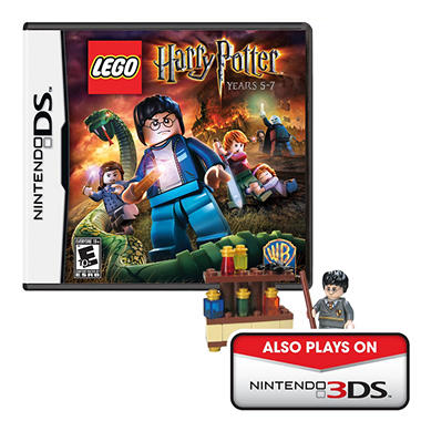 LEGO Harry Potter: Years 5-7 with bonus LEGO Harry Potter Set - DS