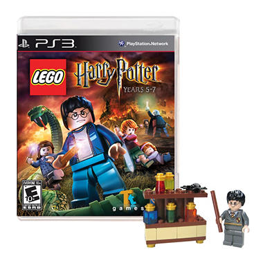 LEGO Harry Potter: Years 5-7 with bonus LEGO Harry Potter Set - PS3