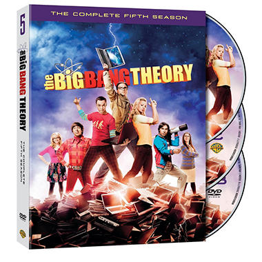 The Big Bang Theory: The Complete Fifth Season (DVD) (Widescreen)