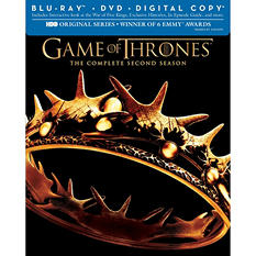 Game Of Thrones: The Complete Second Season (Blu-ray + DVD + Digital Copy) (Widescreen)