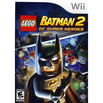 LEGO Batman 2: DC Super Heroes - Wii