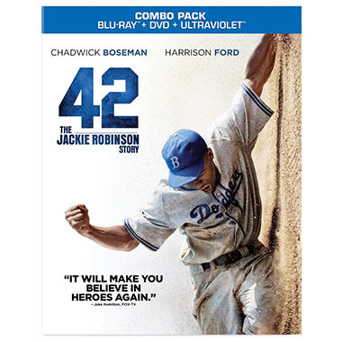 42 (Blu-ray + DVD + UltraViolet) (Widescreen)