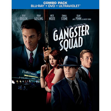 Gangster Squad (Blu-ray + DVD + UltraViolet Digital Copy) (Widescreen)