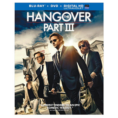 Hangover III (Blu-ray + DVD + UltraViolet) (Exclusive) (Widescreen)