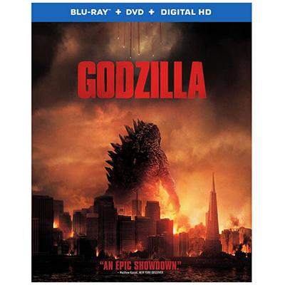 Godzilla (Blu-Ray + DVD + Digital HD UltraViolet Combo Pack)