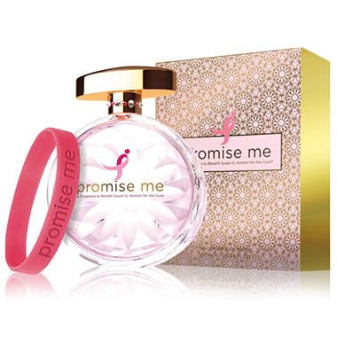 Promise Me A Fragrance to Benefit Susan G. Komen for the Cure