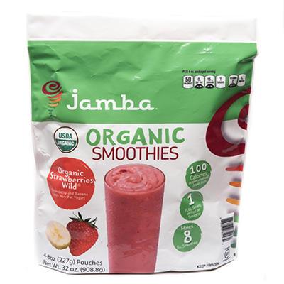 Jamba Smoothies Organic Strawberries Wild (32 oz., 10 pk.)