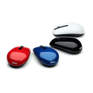 Dell WM311 Wireless Mouse with 4 Switchable Color Lids
