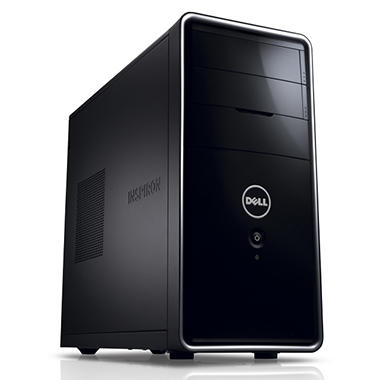 Dell Inspiron 620 Desktop Intel Core i3-2120, 1TB Hard Drive