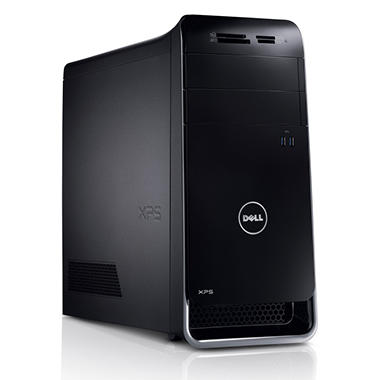 Dell XPS 8500 Desktop with Intel Core i7, 1TB HDD, 8GB RAM - Black