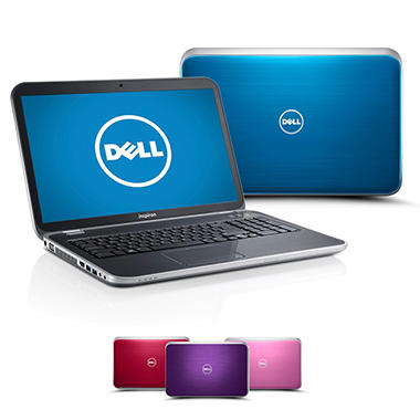 "Dell Inspiron 17R (5720) 17.3"" Laptop Computer, Intel Core i5-3210M, 6GB Memory, 1TB Hard Drive - Various Colors"