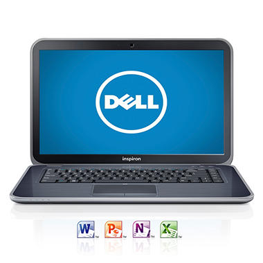 "Dell Inspiron 15z Ultrabook Computer, Intel Core i5-3317U, 6GB Memory, 500GB Hard Drive, 15.6"" Preloaded with Microsoft Office Home and Student 2013"