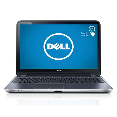 "Dell 15R Inspiron 15.6"" Touch Laptop, Intel Core i-7-3537U, 8GB Memory, 1TB Hard Drive"