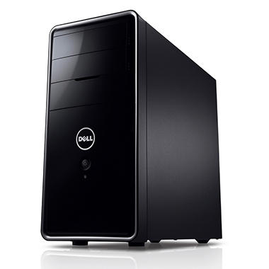 Dell Inspiron 660 Desktop Computer, Intel Core i5-3330, 8GB Memory, 2TB Hard Drive