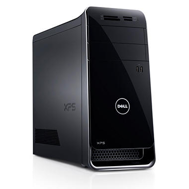 Dell XPS 8700 Desktop Computer, Intel Core i7-4770, 12GB Memory, 2TB Hard Drive