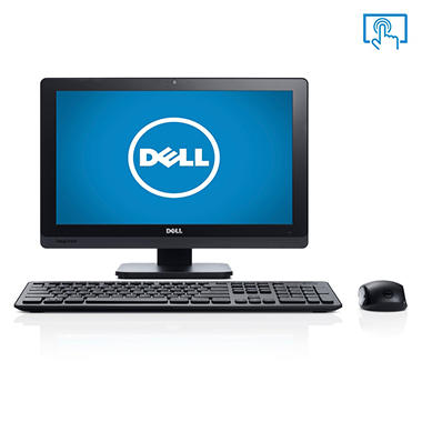 "Dell Inspiron One 2020 20"" Touch Desktop Computer, Intel Pentium G2020T, 4GB Memory, 1TB Hard Drive"