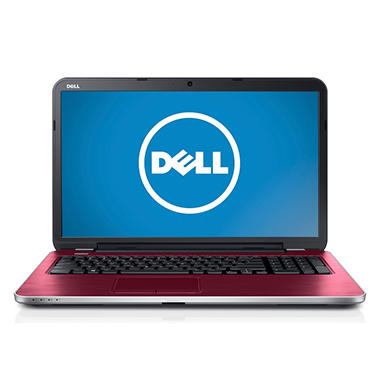"Dell Inspiron 17R 17.3"" Laptop Computer, AMD A8-5545M, 8GB Memory, 1TB Hard Drive - Various Colors"