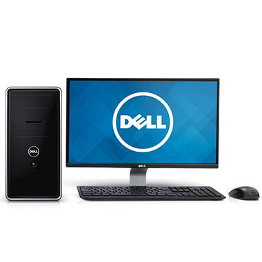 "Dell Inspiron 3000 24"" Desktop Computer, Intel Core i5-4440, 8GB Memory, 1TB Hard Drive"