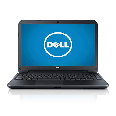 "Dell Inspiron 15.6"" Laptop Computer Intel Core i3-4010U, 6GB Memory, 500GB Hard Drive"