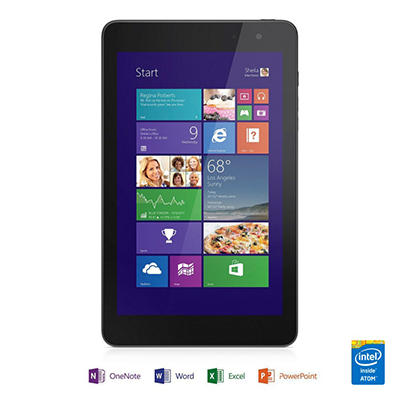 "8"" Dell Venue 8 Pro Tablet- 64GB Intel Atom Z3740D processor"