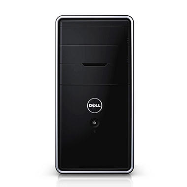 Dell Inspiron 3000 Desktop Computer, Intel Core i5-4460, 8GB Memory, 1TB Hard Drive