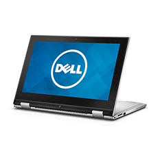 "Dell Inspiron 2-in-1 Touch-screen 11.6"" Convertible Laptop, Intel Pentium, 4GB Memory, 500GB Hard Drive"