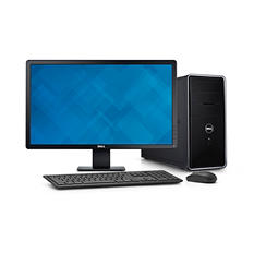 "Dell Inspiron 3000 Desktop with 24"" Monitor, Intel Core i5-4460, 8 GB Memory, 1 TB Hard Drive"