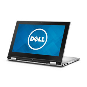 "Dell, 2-in-1 Convertible 11.6"" Touchscreen Laptop, Intel Pentium Processor, 4GB Memory, 500GB Hard Drive, Windows 10 - Silver"