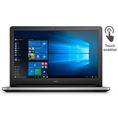 "Dell Touchscreen FHD 15.6"" i5558-6434SLV, Intel Core i5, 12GB Memory, 1TB Hard Drive, Windows10"