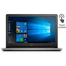 "Dell HD LED 15.6"" Notebook i5558-4287BLK, Intel Core i3, 4GB Memory, 500GB Hard Drive, Windows10"