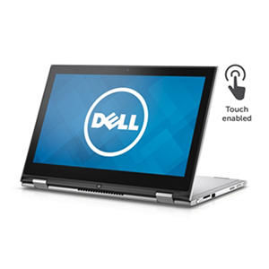 "Dell 2-in-1 FHD Touchscreen Convertible 13.3"" Notebook I7359-4371SLV, Intel Core i5-6200U, 8GB Memory, 500GB Hard Drive, 8GB SSD, Windows 10"
