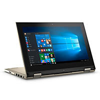 Dell, 2-in-1 Convertible 11.6 Touchscreen Laptop, Intel Pentium Processor, 4GB Memory, 128SSD Hard Drive, Windows 10 *,Available in Gold and Red colors