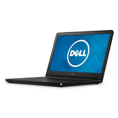 "Dell Inspiron HD LED 15.6"" Notebook i5558-7428BLK, Intel Core i3-4005u, 4GB Memory, 500GB Hard Drive, Windows10 Pro"