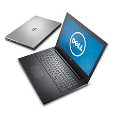 "Dell 15.6"" HD LED Notebook, Intel Core i5-5200U, 4GB Memory, 500GB Hard Drive, 2GB GFX, Windows 10"