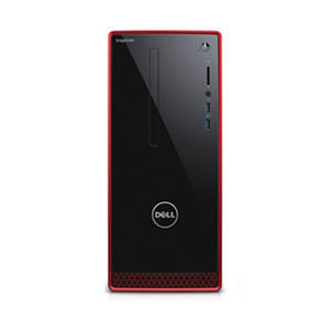 Dell Inspiron Desktop Tower i3656-3355BLK, AMD A10-8700P Processor, 8GB Memory, 2TB Hard Drive, 2GB DDR5 AMD Radeon R9 360 Graphics, Windows 10, with Keyboard and Mouse