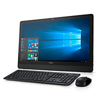 "Dell Inspiron 24"" Full HD Touchscreen All-in-One Desktop, i3459-3275BLK, Intel Core i3-6100U, 8GB memory, 1TB Hard Drive, with Windows 10"