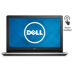 "Dell Inspiron HD LED Touchscreen 15.6"" Notebook I5558-5719SLV, Intel Core i7-5500U, 8GB Memory, 1TB Hard Drive, Windows 10"