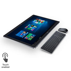 """Dell Inspiron 24"""" Touchscreen All-in-One Desktop, I7459-7070BLK, i7-6700HQ, 16GB Memory, 1TB Hard Drive, NVIDIA 940M, with Windows 10"""