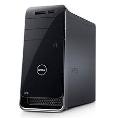 Dell Desktop, X8900-3569BLK, Intel Core i7-6700,16GB Memory, 2GB Hard Drive, GTX745, Win 10 Pro