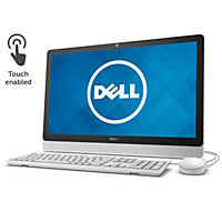 "Dell 24"" All-in-One Touchscreen, I3459-3276WHT, Intel Core I3-6100U, 8GB Memory, 1TB Hard Drive, with Win 10"