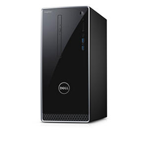 Dell Inspiron Desktop, I3656-22BLK, AMD A8-8600P , 8GB Memory , 1TB Hard Drive , with Windows 10