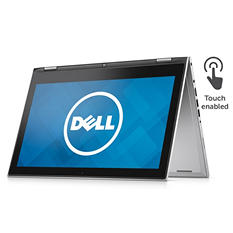 "Dell 13.3"" FHD Touchscreen Laptop, I7359-2276SLV,Intel Core I3-6100U,4GB Memory, 1TB Hard Drive, Win 10, Various Colors"